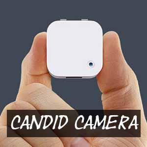 candid cameras
